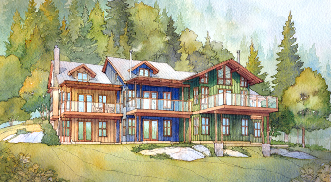 Concept-Attached-Dwellings-Seymour-Landing-c-Bowen-Island-Properties